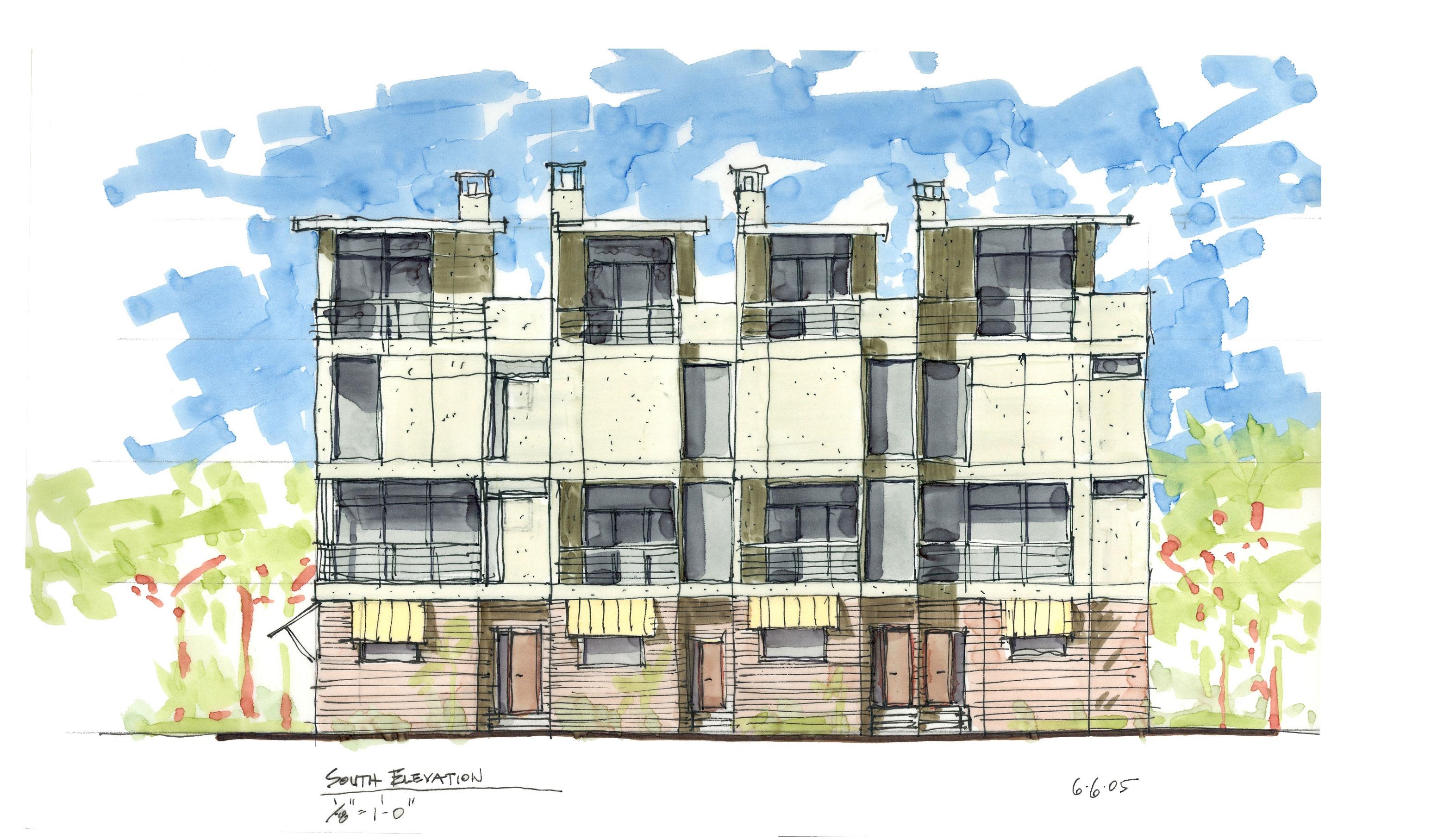 10---2005_0606-South-Elevation-conceptual-sketch-a